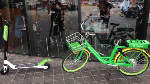 самокатах Lime-S и велосипедах Lime-E